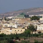 Blick über die Stadt Fes in Marokko