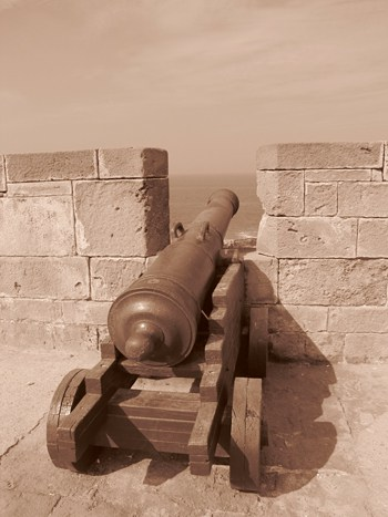 Fort Scala de la Kashba.