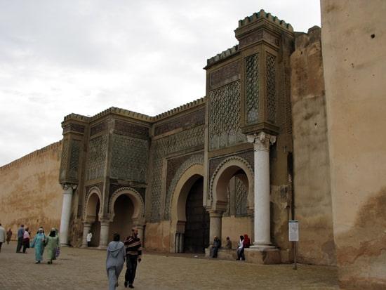 Der Eingang zur Altstadt von Meknes.