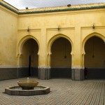 Die Moschee Sultan Moulay Ismail.