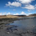 Nicht nur am Meer kann man baden, auch am See Aquelmane Sidi Ali.