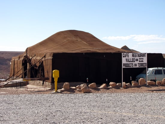 Manche Zelte laden förmlich zum Bleiben ein.
