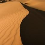 Eine Düne in der Wüste Erg Chebbi.