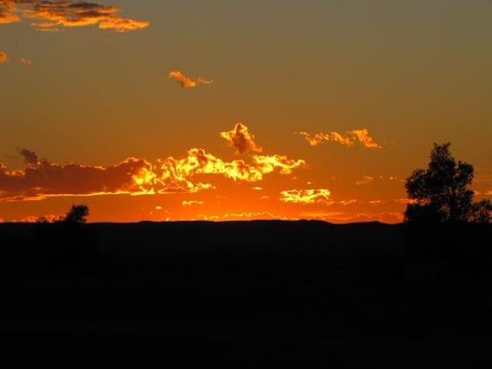 In der Wüste Erg Chebbi wird es nachts sehr kalt und tagsüber sehr heiß.